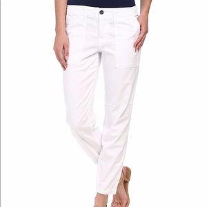 SANCTUARY peace trooper white pants